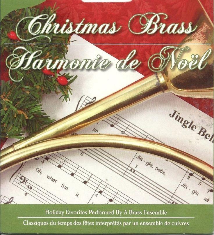 CHRISTMAS BRASS ENSEMBLE CLASSICAL HAPPY HOLIDAY SEASON FESTIVE MUSIC CD - NEW #Christmas ...