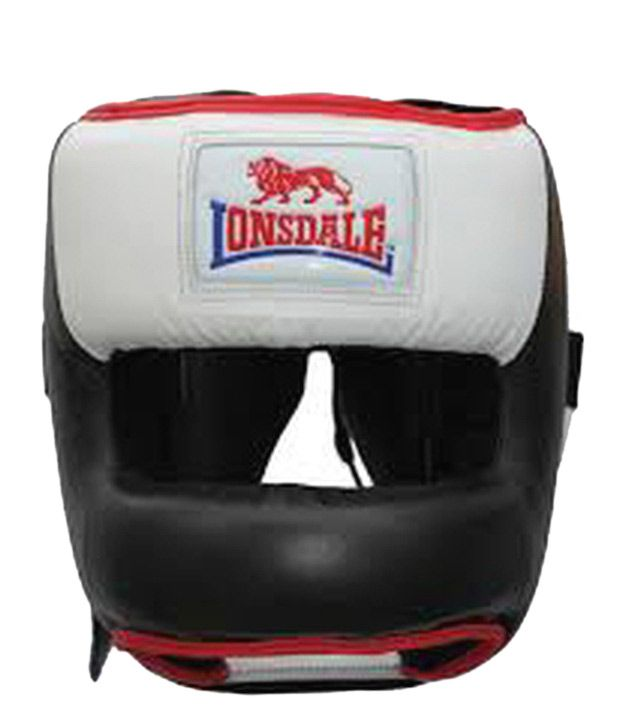 Loved it: Lonsdale Face Saver Leather Head Guard, http://www.snapdeal.com/product/lonsdale-face-saver-leather-head/112056
