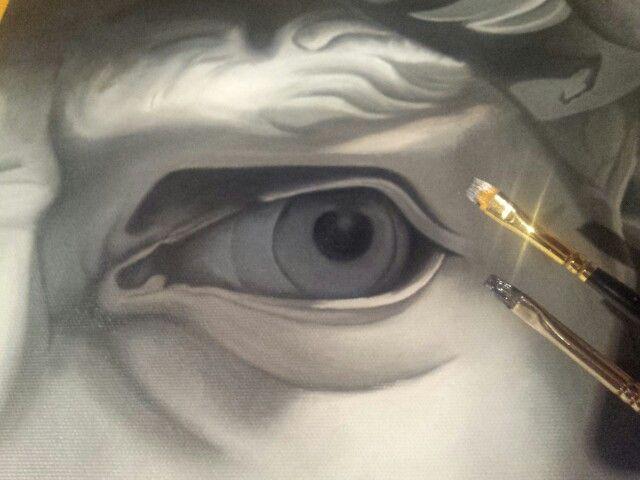 Eye of David - Michelangelo -Loving Florence