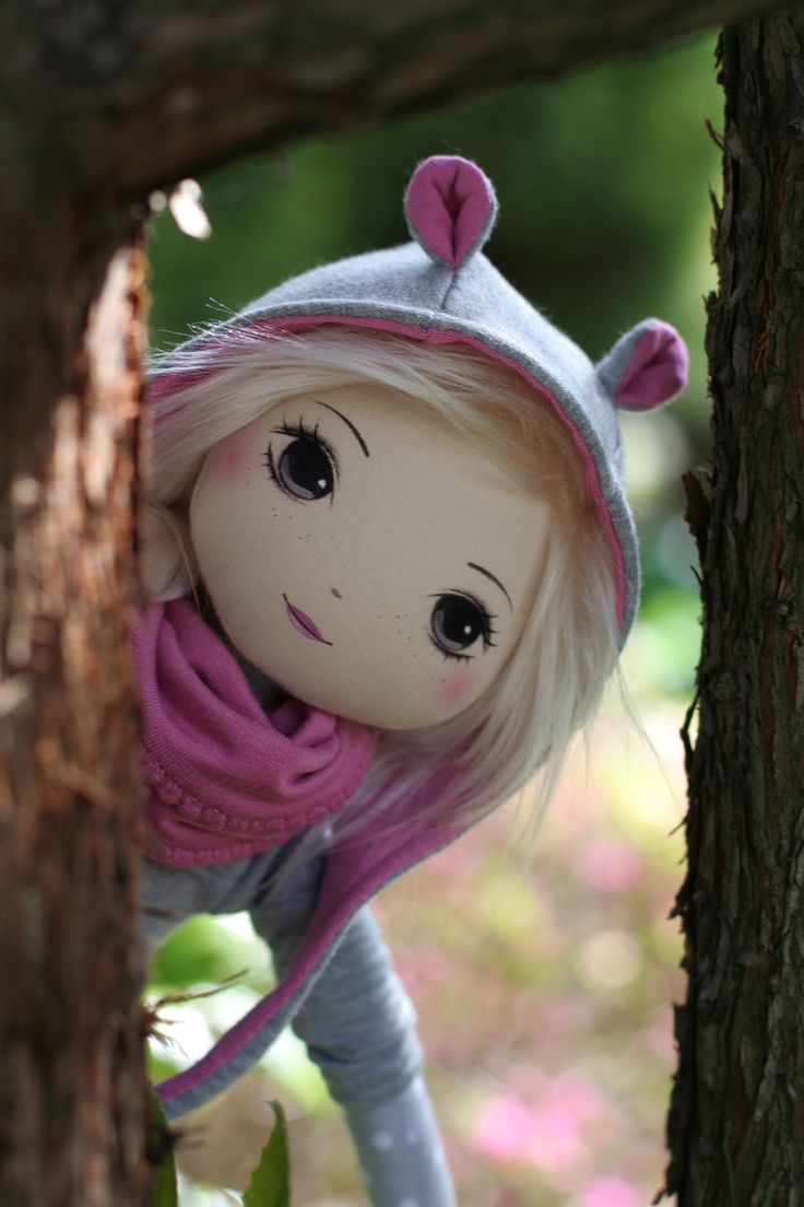 handmade doll by romaszop