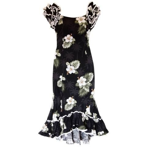 Our long Hawaiian print dresses are perfect for that special night out. Whether looking for that resort dress or a simple cocktail dress you can find many Hawai