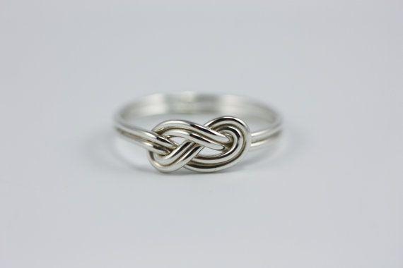 Double infinity knot by JenLeddyStudios $48