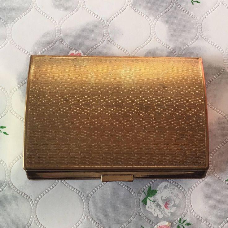 48 best Vintage Cigarette Cases images on Pinterest   Cigarette case ...
