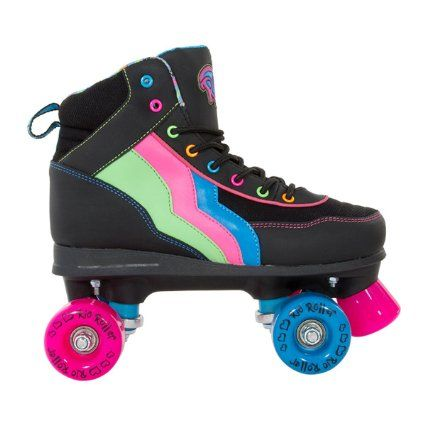 Rio Roller Classic II Disco Roller Skates - Various Colours: Amazon.co.uk: Sports & Outdoors