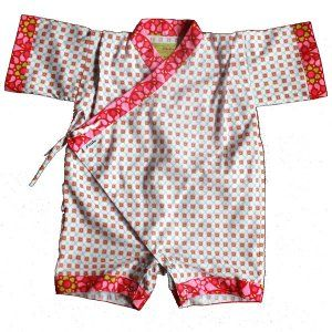 oh yes, my little one shall be dressed in baby kimonos