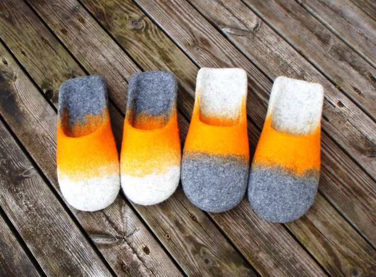 wet felted slippers DZINTARS UN JŪRSKALOTIE KOCIŅI pamana.lv