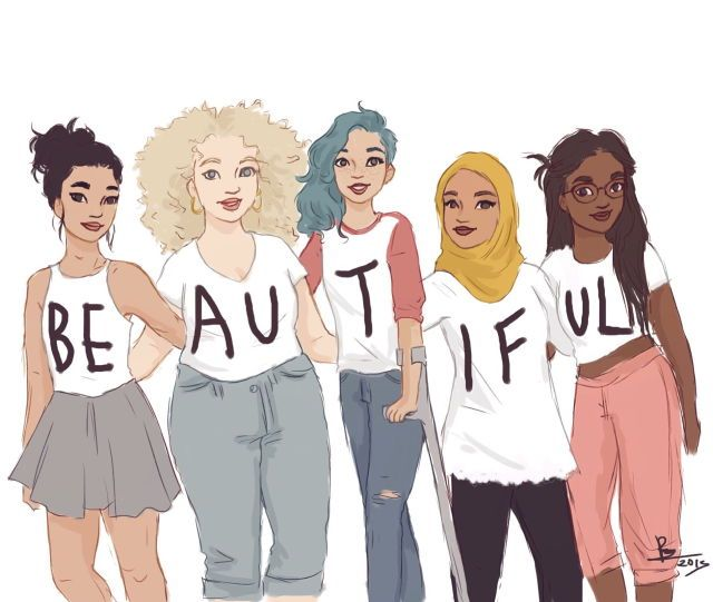The green haired one I'm more like as I have her style and I've had to survive in crutches when I broke my leg. But all of them are beautiful even with their differences. Different = Beautiful ❤️