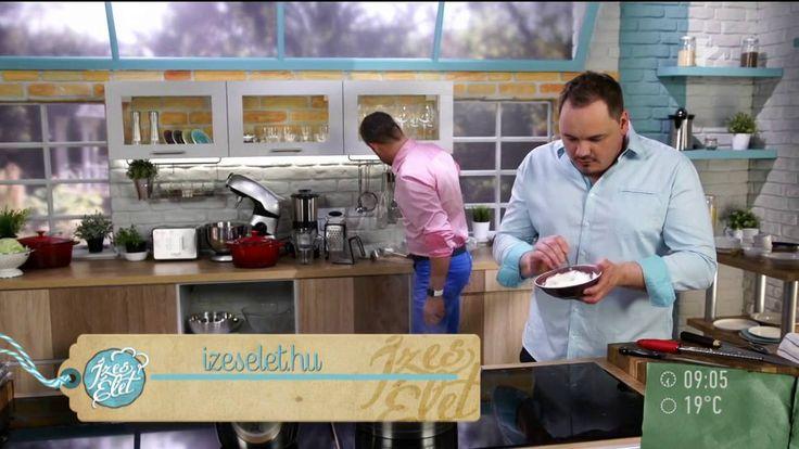 Lázár Chef sajtos-baconös tekert csirkemelle (recepttel) - tv2.hu/mokka