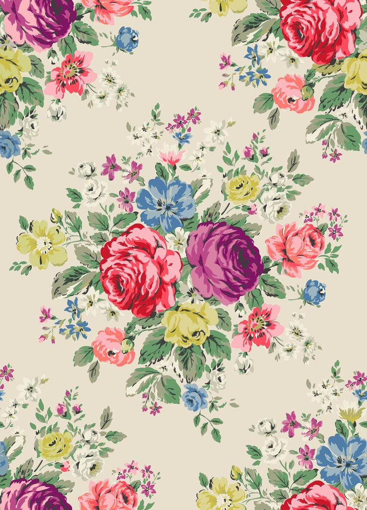 Hampstead Rose | We've reworked AW13's beautiful Hampstead Rose in rich, elegant jewel colours for the festive season | Cath Kidston Christmas 2015 |