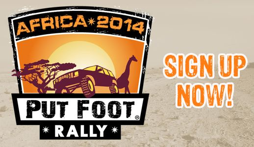 Put Foot Rally SA