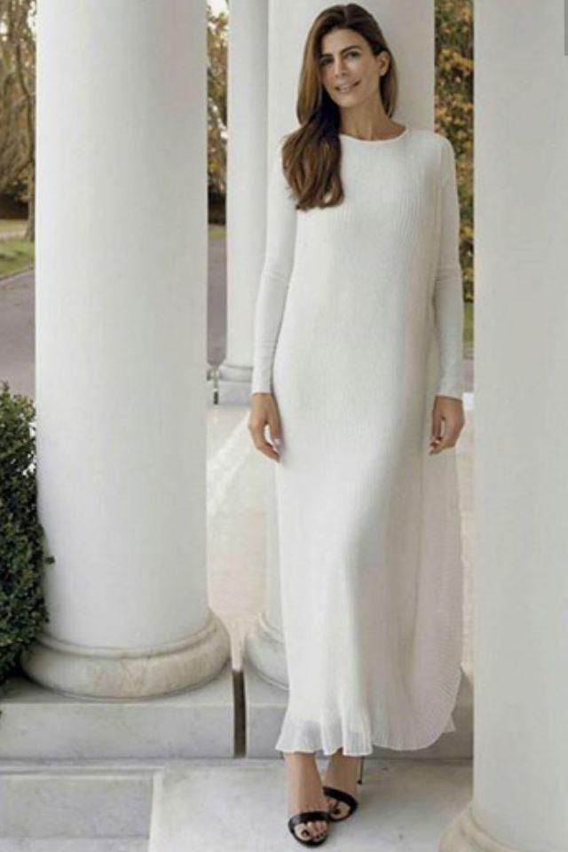 La elegancia sencilla de la 1a. dama argentina, Juliana Awada.