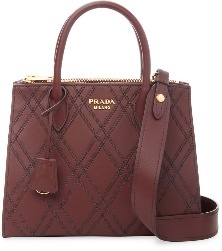 Prada Women's Open Top Tote Bag