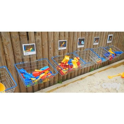 SHOPPING BASKETS (4PK) - Sheds and Outdoor Storage - Early Years - Cosy Direct
