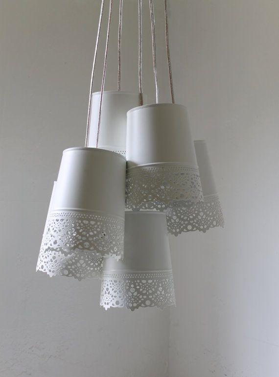 Best 25 lace lamp ideas on pinterest diy lace lamp diy for Doily light fixture