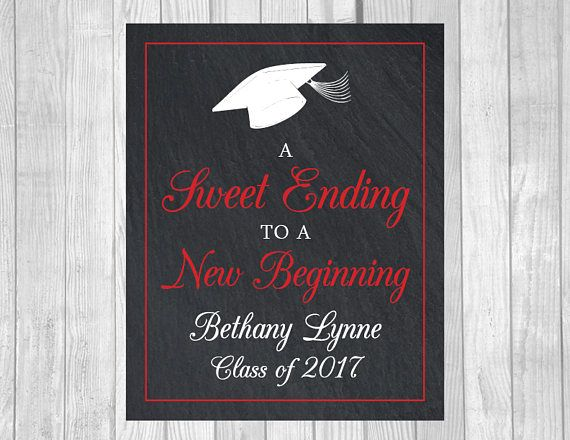 Custom Sweet Ending To A New Beginning 8x10 Printable