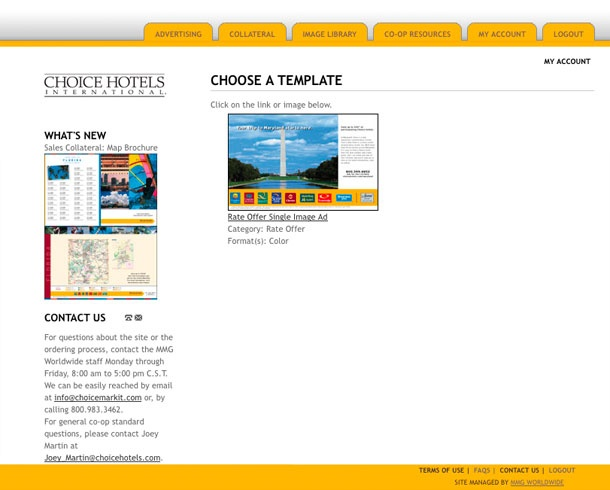 The Choicemarkit Front Developed By Mmgy Global