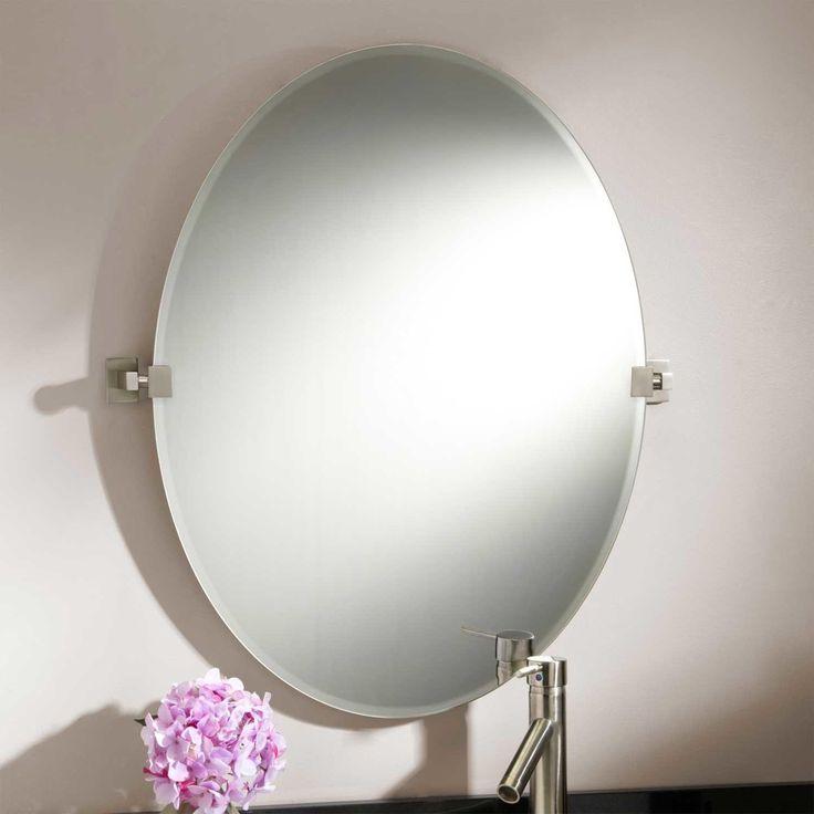 "31"" Helsinki Oval Tilting Mirror"