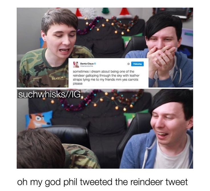 I wouldn't even think it. It sounds exactly like something Dan would say. How many tweets do you think Phil has tweeted making it sound like it was from Dan?