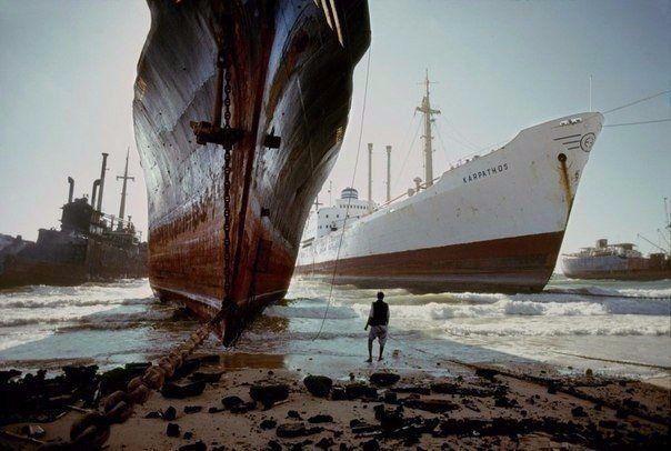 Кладбище кораблей. Пакистан