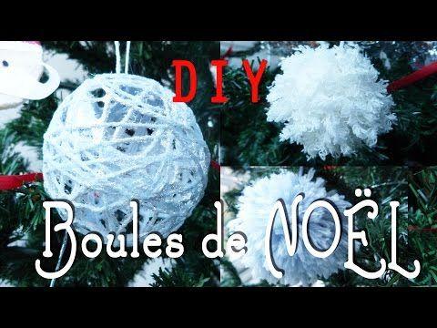Boules décoratives en fil - YouTube