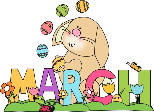 Month of March Easter Bunny