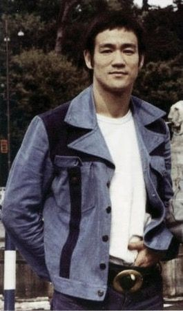 Bruce from his time filming The way of the dragon