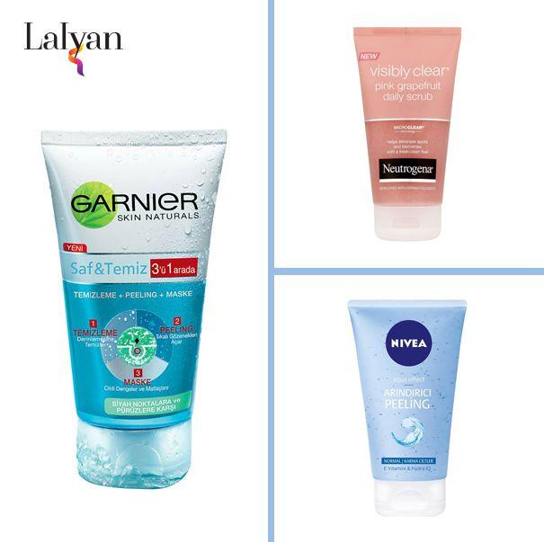 Cilt bakımına önem veren hanımlara özel Nivea, Neutrogena ve Garnier Peeling&Bakım ürünleri 11.50 TL'den başlayan fiyatlarla. http://www.lalyan.com/product_list.php?ptId=3&cId=99