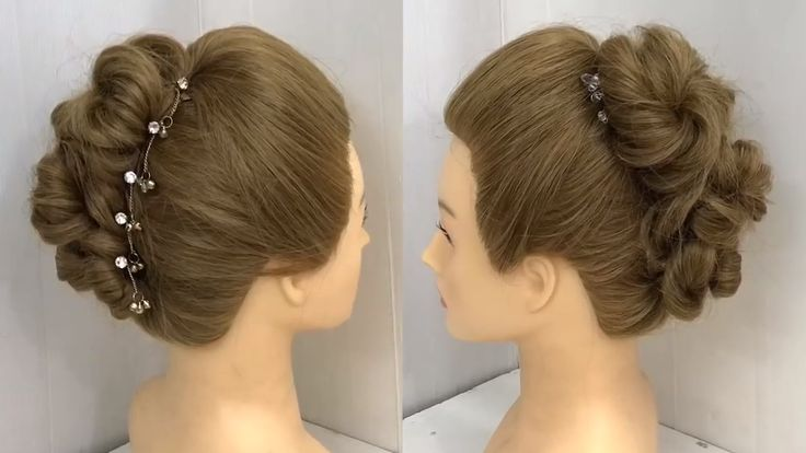 2 Easy Bun Hairstyles With Trick For Wedding Party Prom Updo Hairstyle Women Hairstyles 2020 Bun Eas Easy Bun Hairstyles Prom Hair Updo Bun Hairstyles