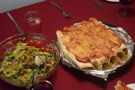 Italiaans wraps met kip