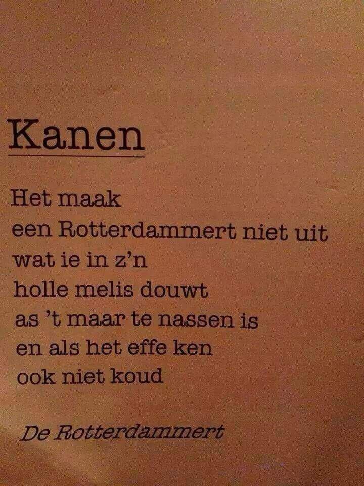 Kanen Rotterdams ... MG