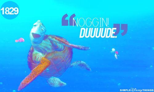 Dude!!: Nemo Theme, Best Movie, Finding Nemo 3, Finding Nemo3, Favorite Quotes, Best Disney Movie, Crushes Quotes, Favorite Movie, Disney Things