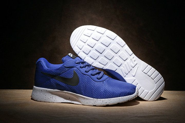 low priced d25d1 bce3d 2018 Original Nike Tanjun SE Coastal Blue Black Noir Sportstyle Casual  Running Shoes 844887-400 New Style Youth Big Boys Shoes