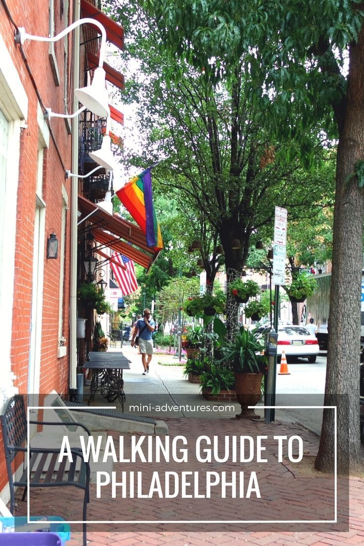 A walking guide to Philadelphia, covering street art, food and historical sights!