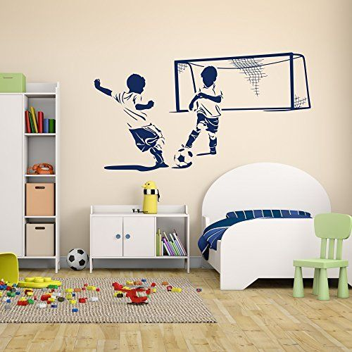 Ber ideen zu fu ball kinderzimmer auf pinterest for Wanddekoration jugendzimmer