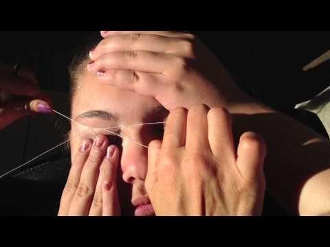 Does Eyebrow Threading Hurt?