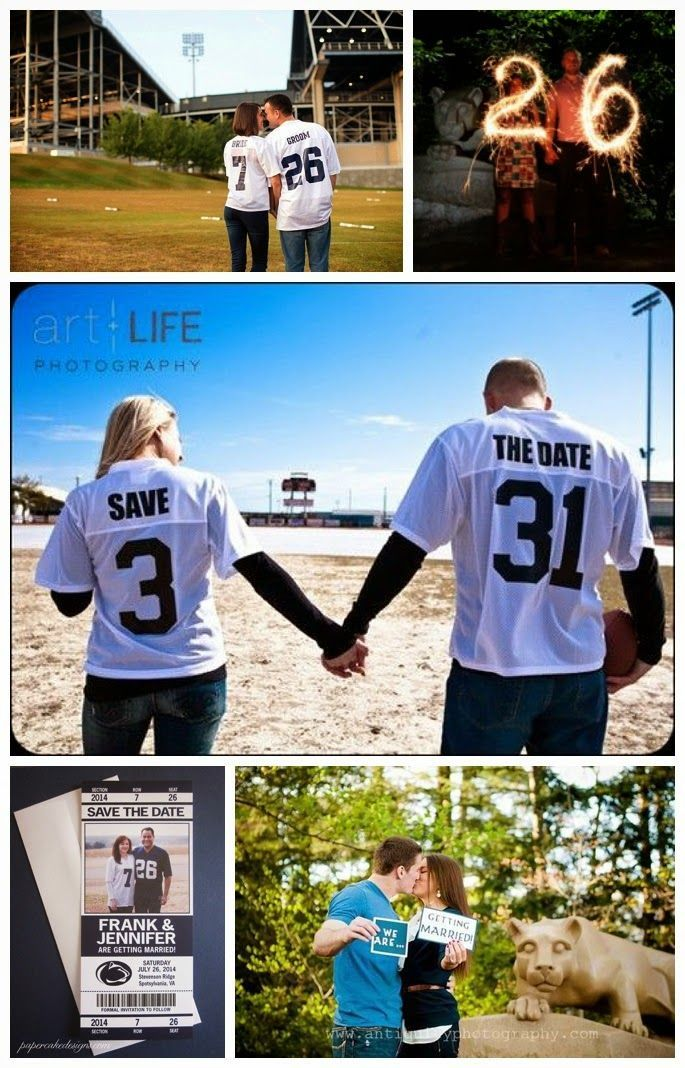 Wediquette and Parties: We Are...Getting Married- Penn State Wedding Ideas, Save the Date Ideas sports save the dates, baseball save the dates #wedding #sports