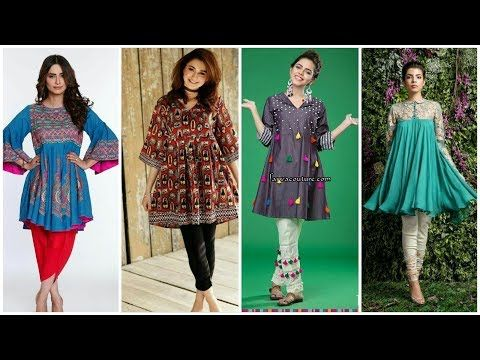 7fa3c6c944 comfortable Kurti || Kurta Frocks Style Dress Design for Girls - YouTube