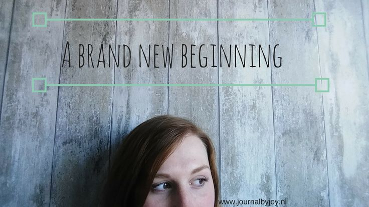 A brand new beginning Hello lovely people of the internet♥ You may be new here or not, but it's so nice to see you and thank you for checking out my blog!