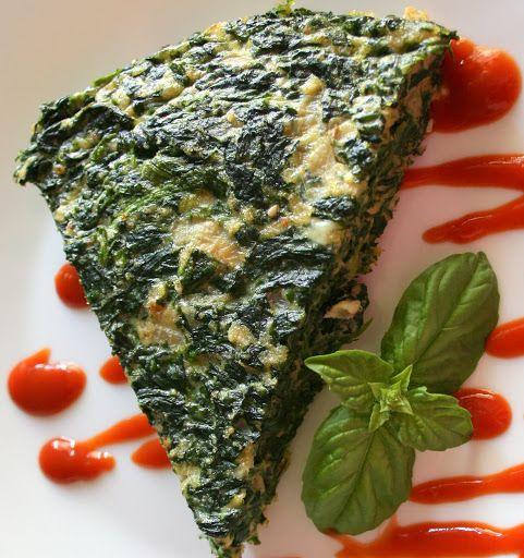 Рецепт омлет со шпинатом и сыром (fritatta con spinaci e formaggio), пошагово, с фото – Рецепты итальянской кухни