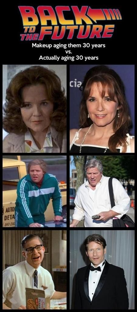 """The """"Back To The Future"""" Films Were Pretty Good At Guessing What These Actors Would Look Like 30 Years Older"""