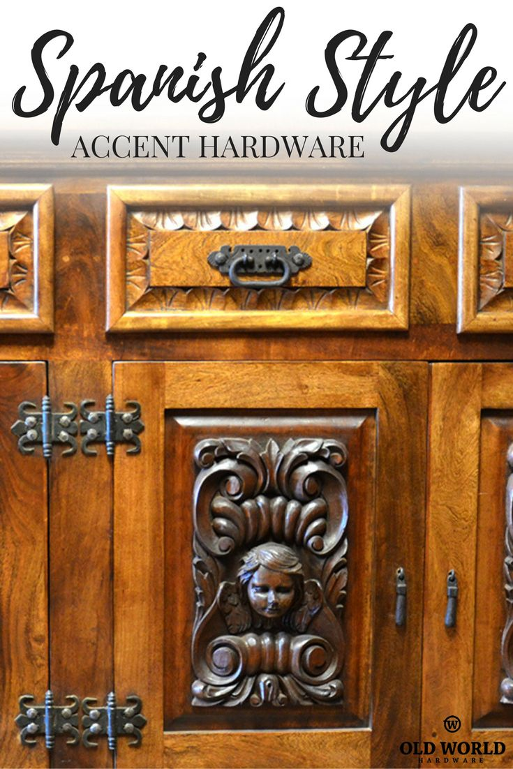 Hand Forged Spanish Style Accent Hardware From Clavos And Pulls To Straps Hinges Wood In 2018 Pinterest Homes