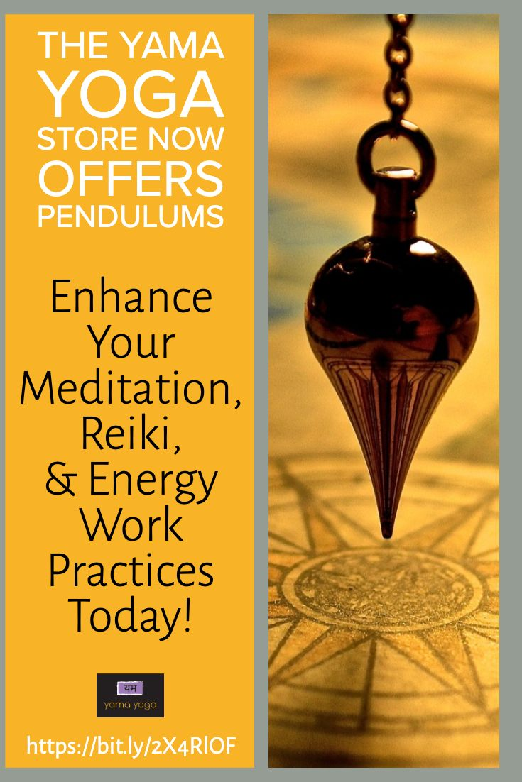 We Have Added Pendulums To The Yama Yoga Store With Images