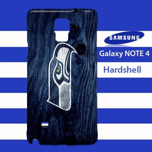 Seattle Seahawks On Wood Samsung Galaxy Note 4