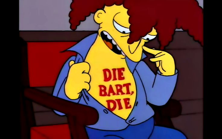 """It's German for """"the Bart, the"""""""