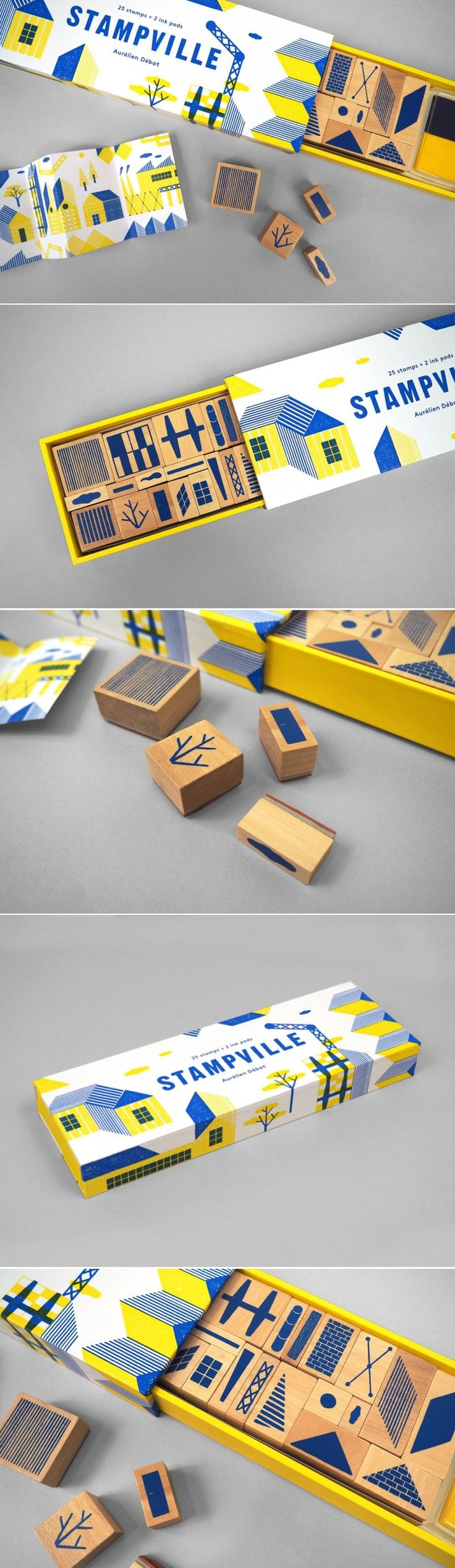 Be Your Own Architect and Designer With Stampville — The Dieline | Packaging & Branding Design & Innovation News