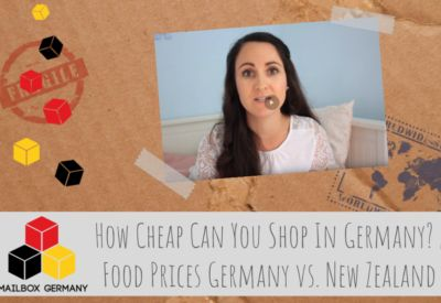 How Cheap Can You Shop In Germany? | Food Prices Germany vs. New Zealand via http://mailbox-germany.com #mailbox #germany #forwarding #logistics #scan #mail #letters #shopping