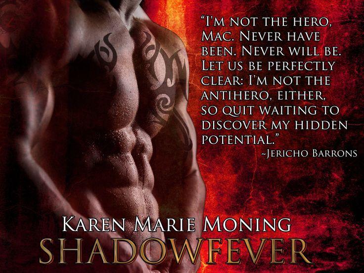 Jericho Barron's, Karen Marie Moning's Fever series