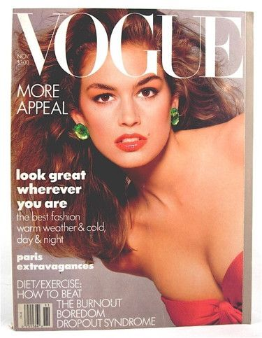 Vogue Magazine November 1987