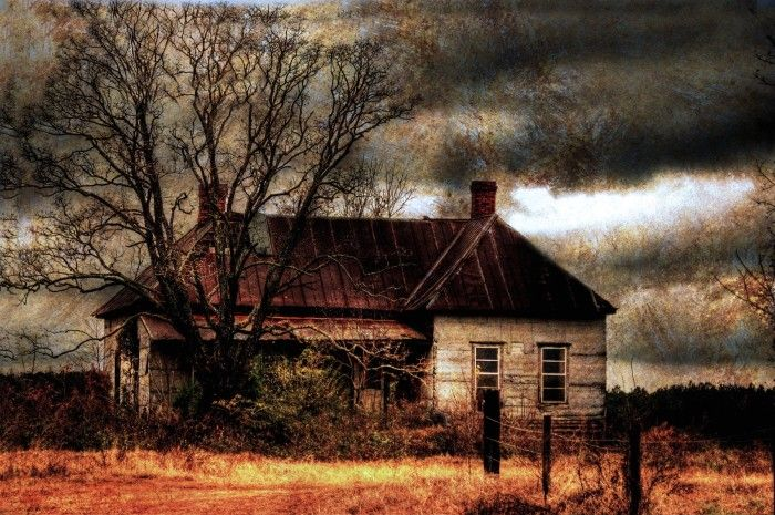 1. A beautiful capture of Rosa Parks' childhood home in rural Alabama.