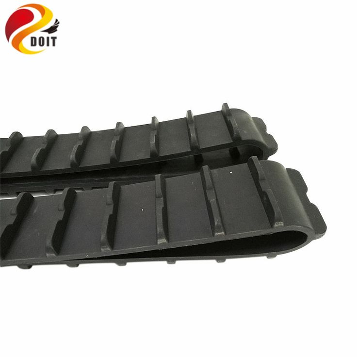 DOIT 2pcs Rubber Track for Tank Model with 970mm Length 51mm Width DIY RC Toy Parts